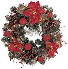 elegant poinsettia gkibethlehem lighting prelit christmas wreath amazoncom gki bethlehem lighting pre lit