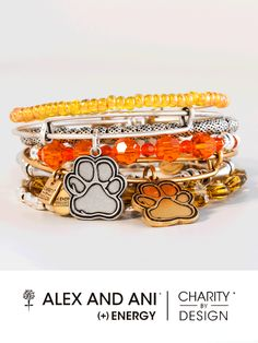"""Lifestyle brand Alex and Ani and its charitable division, Charity by Design, have created a new charm design in support of the ASPCA! Part of Alex and Ani's Charity by Design collection, the """"Prints of Love"""" bangle features a paw print shaped charm and is available in both Silver and Gold. Find out where to get it here! http://www.aspca.org/blog/lifestyle-brand-alex-and-ani-creates-pet-themed-prints-love-bangle-support-aspca"""