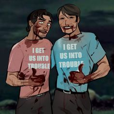 Hannibal Funny, Nbc Hannibal, Hannibal Lecter Series, Will Graham Hannibal, Mads Mikkelsen, Superwholock, Tv Shows, Husband, Fandoms
