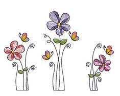 Machine Embroidery Design Flowers SET 3 articles in Flower Embroidery Designs, Embroidery Monogram, Embroidery Files, Floral Embroidery, Flower Patterns, Machine Embroidery Designs, Flower Designs, Embroidery Applique, Creeper Minecraft