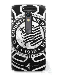 Capa Capinha Moto X Play Time Corinthians #3 - SmartCases - Acessórios para celulares e tablets :)