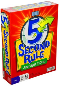 5 Second Rule - Just Spit it Out! #PlayMonster