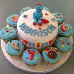 Iggle Piggle cake & cupcakes