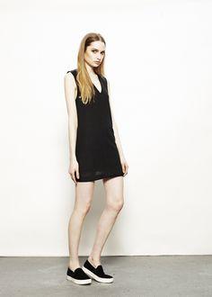 Hayes dress-black-fall dress addison-ny.com