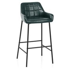The Falcon Stool Antique Green has a retro-chic aesthetic. Designed for use at commercial bar height it will stand tall in many settings. Sit Back And Relax, Seat Pads, Retro Chic, Stand Tall, Go Green, Foot Rest, Vintage Looks, Bar Stools, Antiques