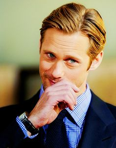 oh, Alexander Skarsgard, i WILL meet you one day and we will make Scandinavian babies lol