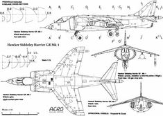 Hawker Harrier Interesting Drawings, Rc Trucks, Royal Air Force, Aviation Art, B & B, Military Aircraft, Line Drawing, Fighter Jets, How To Plan