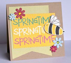 This Springtime card created by Bella Blvd DTM, Jenny Evans. Bella Blvd's Spring Flings and Easter Things.  Also used Petaloo's FloraDoodles collection.
