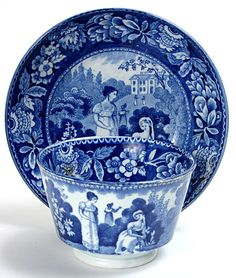 Classic blue.  Historical Staffordshire. Our grandmothers delighted in these beautiful pieces of china. What treasures.