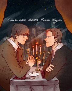 310 Clark Kent's first meeting with Bruce Wayne
