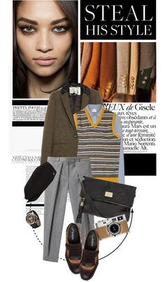 """""""Ivy Style"""" by cutandpaste ❤ liked on Polyvore"""