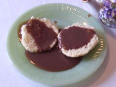 Chocolate Gravy - Serve w/ homemade biscuits, it's an easy and indulgent treat!  Great for those special ocassions when it's 'OK' to have chocolate for breakfast!!!