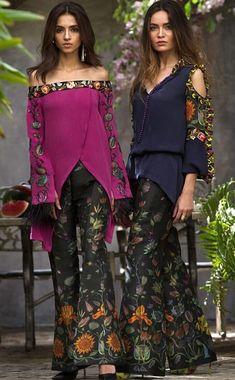 For fashion garment design. Tunic Designs, Kurta Designs, Beautiful Dresses For Women, Beautiful Outfits, Frock Fashion, Fashion Dresses, Pakistani Dresses, Indian Dresses, Eastern Dresses