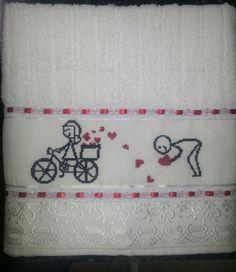 Toalha Banho Namorados