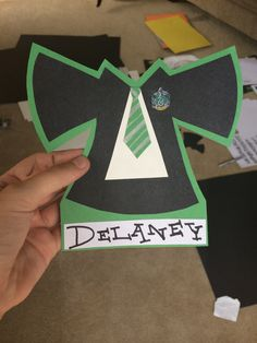 Harry Potter house door decs