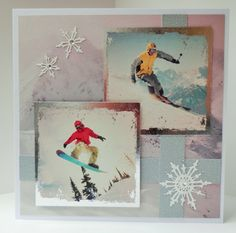 7 x 7 card made by Sue Dinsdale using Kanban Hobbies and Interests Collection
