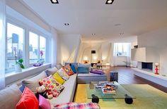 sofá-muitas-almofadas - Pesquisa Google