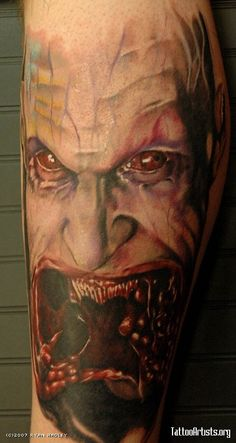 blade ii guillermo del torro movie tattoos pinterest scary tattoos tattoo designs and design. Black Bedroom Furniture Sets. Home Design Ideas