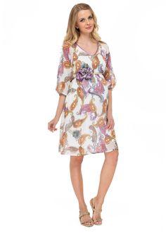 """Платье """"Гелла"""" пэйсли для беременных – цены в Москве в интернет-магазине I Love Mum"""