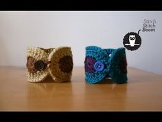 Let's make a crochet bracelet! In this video I'll show you how to make an easy crochet bracelet or crochet cuff! The FREE crochet pattern is also included in. Crochet Bracelet Tutorial, Beads Tutorial, Boho Crochet, Knitting Patterns, Crochet Patterns, Lace Gloves, Crochet Baby Clothes, Crochet Beanie, Crochet Accessories