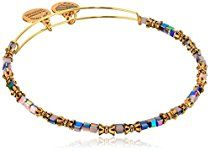 """Alex and Ani """"The Mystical and The Magical"""" Spirit Expandable Wire Mulberry Bangle Bracelet"""