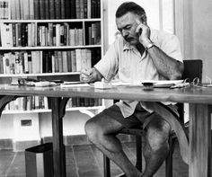 """Great Quote: """"Live the full life of the mind, exhilarated by new ideas, intoxicated by the Romance of the unusual.""""  — Ernest Hemingway, The Complete Short Stories of Ernest Hemingway"""