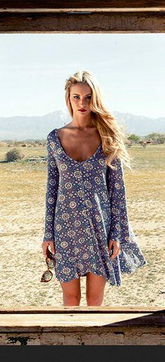 RVCA // Told Secrets Dress