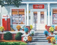 Coca-Cola The General Store, a 1000 piece jigsaw puzzle by Springbok Puzzles.