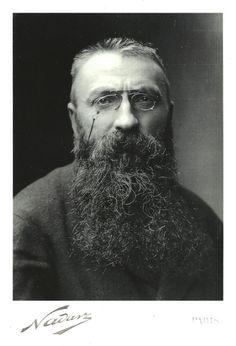 Portrait of François-Auguste-René Rodin (1840 – 1917) | Follow WURLDZ OF AHRT on Facebook!