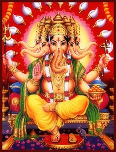 Om Gam Ganapataye Namaha.  Great Ganesh, please show us the way, remove obstacles as we follow our path to our highest good.