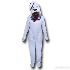 The Destructor Is An Adult In Stay Puft Footie Pajamas