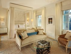 LuxPad Review || Coworth Park || Mansion House Bedroom  Image Courtesy of Coworth Park