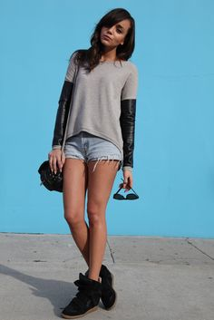 two-texture sweater