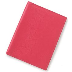 Coral Leather Passport Cover | Lenox