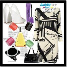 CONSIGUE EL LOOK: TOP PRINTS!!  Look Black and White - damero  #moda #print #tendencias #loewe #essie #bourjois