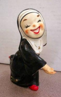 Wales Little Nun Figurine