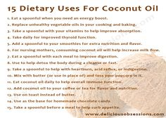 15 Dietary Uses for Coconut Oil
