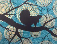Squirrel silhouette (2)