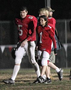 Glee Cast Photos: Rachel Berry Joins the Football Team? Rachel Berry, Finn Glee, Glee Rachel And Finn, Lea And Cory, Glee Memes, Finn Hudson, Glee Club, Chris Colfer, Cory Monteith