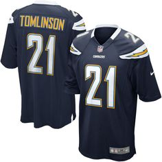 Men's Nike LaDainian Tomlinson Navy San Diego Chargers Nike Retired Player Game Jersey