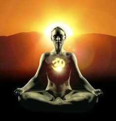 Repeating the mantra aum either silently or out loud during meditation can calm your thoughts, create peace, and promote connection.