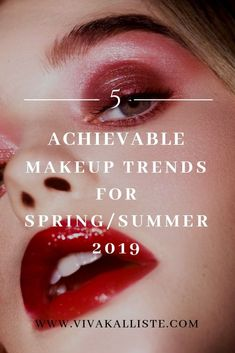 Incorporating trends happening on the gram' or off the runway isn't always the easiest though, but I still like to scout these out nonetheless in case I think I'll be able to recreate them (some I already have!). #beauty #makeup #trends #ss19 #blogger #bblogger