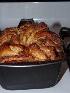 I Heart Food & So Can You: Cinnamon & Sugar Pull-Apart Bread