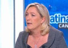 """Marine Le Pen : Benjamin Biolay est """"tout petit, minable, lâche"""""""