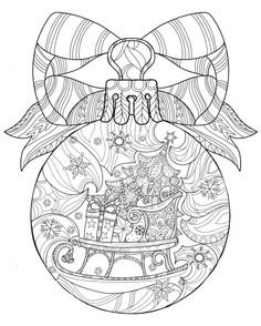 Christmas Coloring Anti Stress Therapy 19