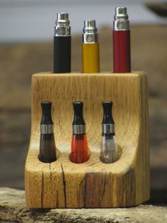 Rustic Vape Stand E Cig Stand Vape Caddy Vape Stand by Rustastic, $25.00