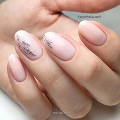 Give life to your nude nails by adding white poli… Floral inspired nude nail art. Give life to your nude nails by adding white polish on the tips with flower details on them Oval Nails, Nude Nails, Pink Nails, My Nails, Best Nails, Oval Acrylic Nails, Coffin Nails, Minimalist Nails, Natural Looking Acrylic Nails