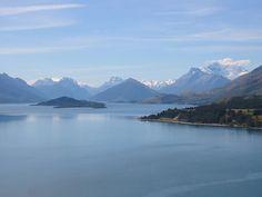 Lake Wakitipu, New Zealand