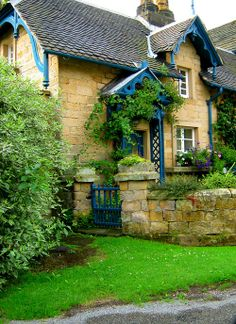 Peak District, Edensor, part of the Chatsworth Estate - pronounced 'Enser' by the locals