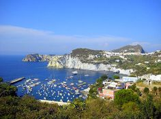 The Pontine Islands, in the Tyrrhenian Sea off of Italy's west coast